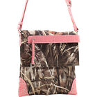 Dasein Tassel and Stud Accent Realtree Camouflage Cross-Body Bag NEW