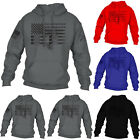 Mens Hoodie Pullover Sweatshirt Bullet Print Long Sleeve Hoody Casual Loose Tops