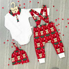 FixedPriceinfant baby boy girl kid christmas outfits romper tops pants hat cotton clothes