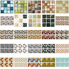 20pc 3d Diy Waterproof Self Adhesive Wall Stickers Mosaic tile Decal Home Decor