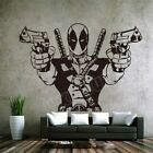 Deadpool Marvel Dc Comics Wall Art Decal Sticker Home Decor Bedroom Wall Sticker