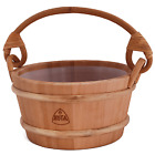 Kota 4l Wooden Sauna Bucket/Pail with handle