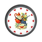 CafePress Vintage Country Kitchen Wall Clock Coffee Wall Clock (244415162)