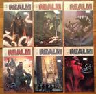 """""""The Realm"""" 6 issue comic lot: # 3, 3, 5-8, Image Comics 2017, Mature Audiences"""