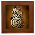 Kyпить CafePress Norse Dragon Framed Tile, Decorative Tile Wall Hanging (1144173157) на еВаy.соm