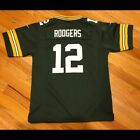New AARON RODGERS #12 Green Bay Packers Men's Football Jersey $35.99 USD on eBay