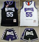 Jason Williams #55 Sacramento Kings 90's Rookie Throwback Jersey / Shorts