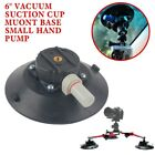"""6"""" Small Hand Pump Sucker Vacuum Suction Cup Muont Base For Stone and Glass New"""