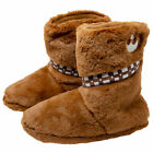 Star Wars Chewbacca Fuzzy Slippers Multi-color $44.98 USD on eBay