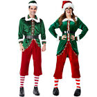 1Set Men's Christmas Cosplay Costumes Santa's Costume Clothing Hot Sale 03