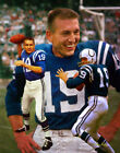 Johnny Unitas Baltimore Indianapolis Colts HOF QB Quarterback Art 1 8x10-48x36