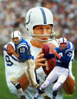 Johnny Unitas Baltimore Indianapolis Colts HOF QB Quarterback Art 2 8x10-48x36