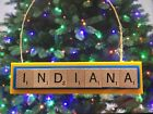 Indiana Pacers Christmas Ornament Scrabble Tiles Rear View Mirror Magnet on eBay