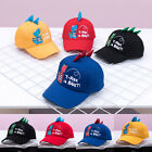 Dinosaur Toddler Kids Baby Boys Girl Baseball Cap Unisex Embroidery Snapback Hat