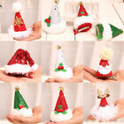 Christmas Decorations Adult Children Sequins Christmas Hat Hairpin Card 03