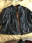 Harle Davidson Women 1X Black Leather Jacket