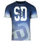 San Diego Padres MLB Gray Gradient Tee by Forever Collectibles on Ebay