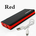 900,000mAh Holiday Outing Mobile Powerbank LCD LED 4USB External Battery Charger