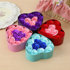 11Pcs Rose Flower Soap Heart Scented Bath Body Petal Wedding Decoration Gift $0.99 USD on eBay