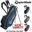 TAYLORMADE STAND BAG TAYLORMADE GOLF BAG LIGHTWEIGHT STAND BAG GOLF CARRY 6.0