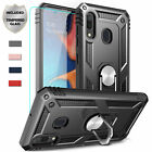 For Samsung Galaxy A20 A10e Case Otterbox Ring Holder Stand + Screen Protector $16.92 USD on eBay