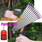 120X Fiberglass Arrows for Youth Kids Archery Bows Target Shooting Wholesale