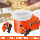 110V 350W Pottery Wheel Detachable Machine Ceramic Work Clay Moveable Pedal   image