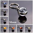 Kyпить Solar System Planet Galaxy Nebula Keychain Pendant Double Side Glass Ball Gifts на еВаy.соm