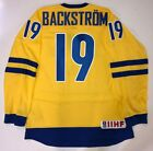 NICKLAS BACKSTROM WASHINGTON CAPITALS NIKE TEAM SWEDEN OLYMPIC JERSEY
