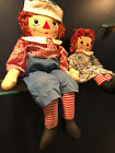 Rare. Original 1950s Raggedy Ann and Andy with a few minor flaws.