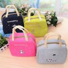 Portable Insulated Lunch Bag School Picnic Tote Insulation Bag Lunch Handbag Ld
