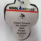 Kool Kovers Cleat Covers For Road Bicycle Shoes Shimano , Speedplay , LOOK