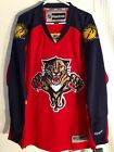 Reebok Premier NHL Jersey Florida Panthers Team Red sz L $9.99 USD on eBay