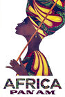"Cool Retro Travel Poster CANVAS ART PRINT Africa panam Native 16""x12"""