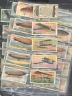 CIG. CARDS , WD & HO WILLS , AUTRALIAN , VICE REGAL , AVIATION , FULL set of 85