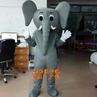 Elephant  Mascot Costume Suit Cosplay Party Game Dress Outfit Halloween Adult