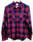 New Levis Womens NBA Cavs Cleveland Cavaliers Basketball Flannel Snap Shirt on eBay