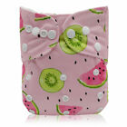 Nappy WashableCloth Diapers One Cloth 1 Pocket Baby Bamboo Size Diapers Reusable