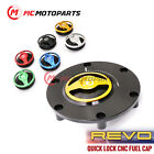 REVO CNC Quick Release Gas Fuel Cap For Triumph Street Triple 675 765 Tiger 800