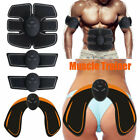 Electric Muscle Toner Wireless Toning Belt Massager Abs Simulation+Hip Butt Lift image