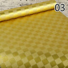 5M 3D Gold Folis Mosaic Wallpaper Self Adhesive Waterproof KTV Wall Stickers