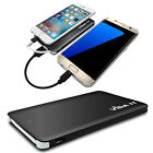 Lightweight 4000mAh Mobile Battery Pack USB Charger Support Charging 2 Phones