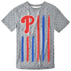 Philadelphia Phillies Big Logo Flag Tee by Forever Collectibles on Ebay