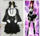 0Fairy Tail Erza Scarlet Black Maid Dress Cosplay