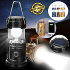 Used, LED Flashlight Rechargeable Solar Power Camping Tent Light Torch Lantern Lamp A for sale  Shipping to South Africa