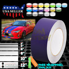 Matte Color Racing Stripes Vinyl Wrap Decal For Scion TC Sticker 25FT / 50FT $19.88 USD on eBay