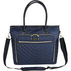 """Kenneth Cole Reaction Chelsea Quilted Chevron 15"""" Women's Business Bag NEW image"""