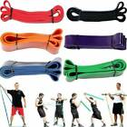 Pull Up Resistance Exercise Bands Loop Band Assisted Heavy Duty Gym Fitness  image