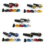 "Universal Motorcycle Colorful 7/8"" Handlebar End Caps Grips Bar End  Stock UA $20.99 USD on eBay"