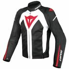 Dainese Hyper Flux D-Dry Motorcycle Jacket White/Black/Red